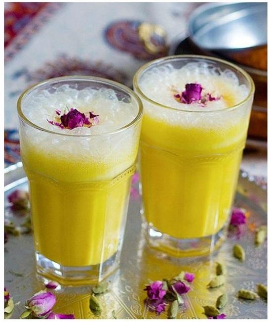 1 sua chua nhuy hoa nghe tay - Bí Quyết Cách Uống Nhụy Hoa Nghệ Tây Cho Cơ Thể Khỏe Mạnh