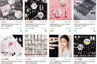 Danh Sách Các Mẫu Bông Tai và Các Shop Bông Tai Trung Quốc 26