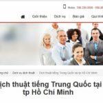 Top 10 Công ty dịch thuật tiếng Trung uy tín nhất tại TP.HCM