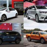Top 10 Mẫu ô tô bán chạy nhất thế giới trong năm 2018