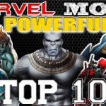 Top 10 Nhân vật mạnh nhất trong vũ trụ Marvel