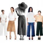 Top 12 Gợi ý chọn và phối đồ với quần culottes cực đẹp
