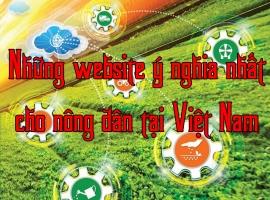 Top 5 Website về nông nghiệp tốt  nhất cho nhà nông năm 2018