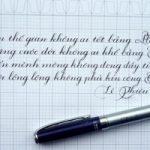 Top 6 Cây viết máy thích hợp trong việc luyện chữ nét thanh đậm