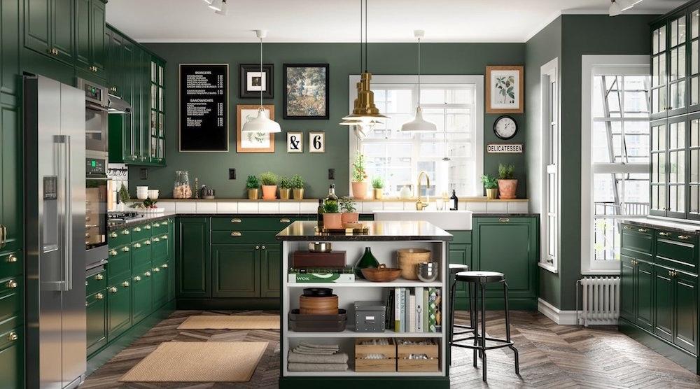 Top 5 Mẫu Kệ Tủ Bếp 1 Tầng Đẹp, Sang Trọng 1