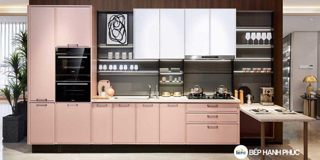 Top 5 mẫu kệ tủ bếp căn hộ chung cư đẹp, được yêu thích 3