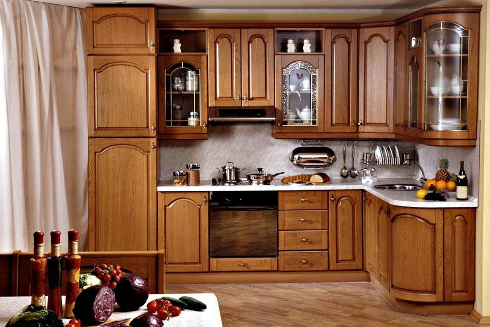 Top 5 mẫu kệ tủ bếp gỗ gõ đỏ đẹp, bền được mua nhiều hiện nay 3