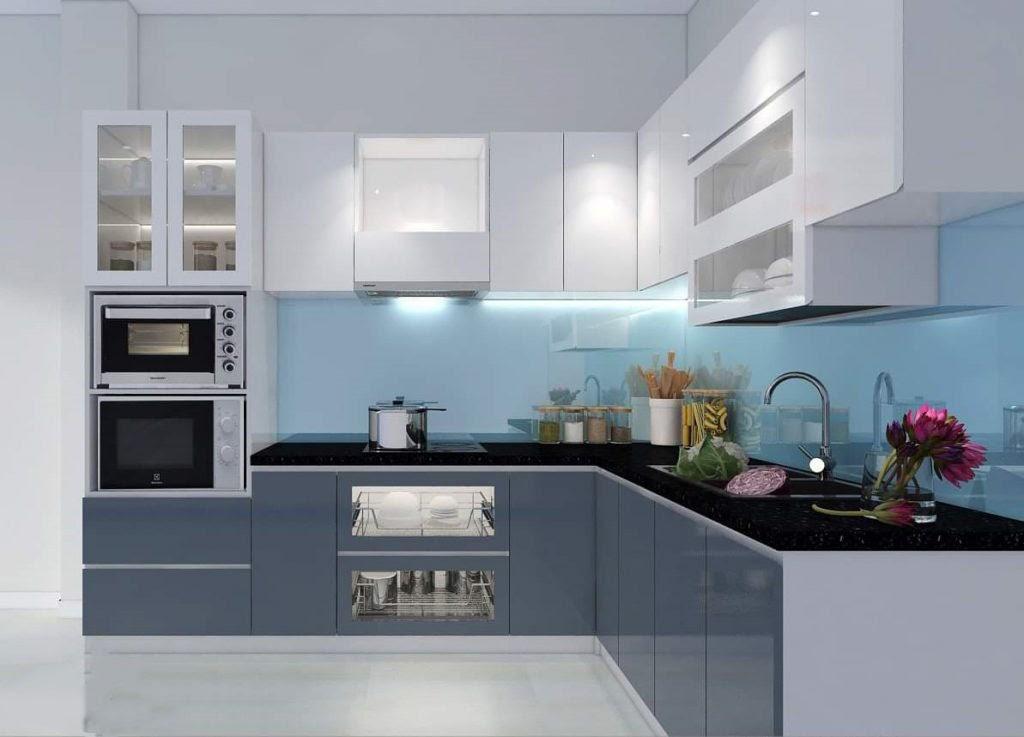 Top 5 mẫu kệ tủ bếp treo tường bền đẹp 5