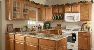 Top 5 mẫu kệ tủ bếp gỗ sồi đẹp, ấn tượng 31
