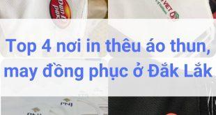 Top 5 Công Ty May Đồng Phục, In Thêu Áo Thun Ở Đắk Lắk