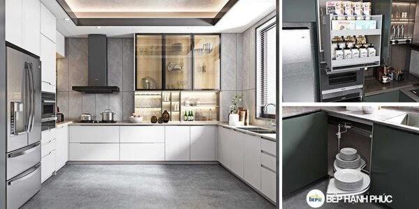 Tủ bếp Acrylic là gì? Mẫu tủ bếp Acrylic đẹp ấn tượng 3