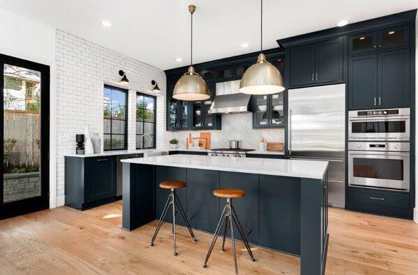 Tủ bếp Acrylic là gì? Mẫu tủ bếp Acrylic đẹp ấn tượng 4