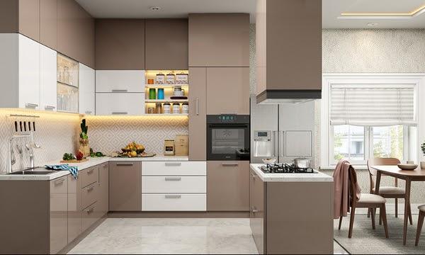 Tủ bếp Acrylic là gì? Mẫu tủ bếp Acrylic đẹp ấn tượng 5