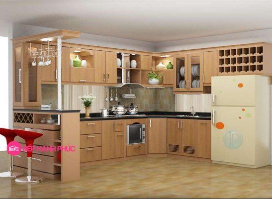 5 mẫu tủ bếp đẹp cho không gian rộng 2