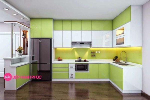 5 mẫu tủ bếp đẹp cho không gian rộng 3