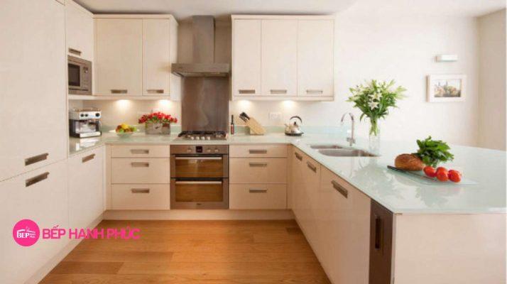 5 mẫu tủ bếp đẹp cho không gian rộng 5