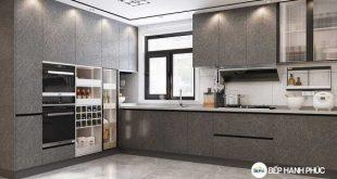 mẫu tủ bếp VIP